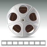 κινηματογραφικό εξέλικτρο βιομηχανίας κινηματογράφου έννοιας Στοκ Εικόνα