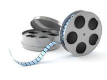 κινηματογραφικό εξέλικτρο βιομηχανίας κινηματογράφου έννοιας Στοκ Εικόνες