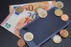 Κινητές δαπάνες στοκ φωτογραφίες με δικαίωμα ελεύθερης χρήσης
