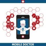 Κινητές υπηρεσίες υγειονομικής περίθαλψης Στοκ Εικόνα