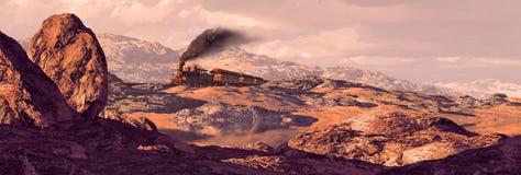 κινητήρια παλαιά δύση του Utah διανυσματική απεικόνιση