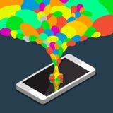 Κινητή έννοια apps Στοκ φωτογραφίες με δικαίωμα ελεύθερης χρήσης