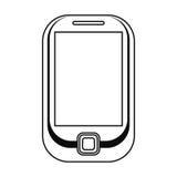κινητή γραμμή τεχνολογίας κινητών τηλεφώνων Στοκ φωτογραφίες με δικαίωμα ελεύθερης χρήσης