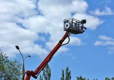 κινητή διάσωση πυρκαγιάς διαφυγών λίκνων Στοκ Φωτογραφίες