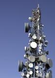 Κινητή κεραία τηλεφωνικών δικτύων στοκ φωτογραφία με δικαίωμα ελεύθερης χρήσης
