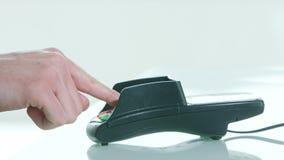 Κινητή πληρωμή με ένα Smartphone φιλμ μικρού μήκους