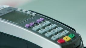 Κινητή πληρωμή με μια πιστωτική κάρτα φιλμ μικρού μήκους