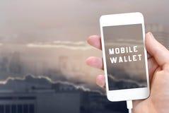 κινητή πληρωμή Στοκ εικόνα με δικαίωμα ελεύθερης χρήσης