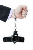 Κινητή σκλαβιά Στοκ εικόνα με δικαίωμα ελεύθερης χρήσης