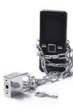 κινητή τηλεφωνική ασφάλει Στοκ εικόνες με δικαίωμα ελεύθερης χρήσης