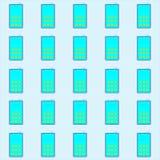 Κινητή τηλεφωνική διανυσματική απεικόνιση Στοκ Εικόνες
