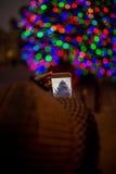 κινητή τηλεφωνική φωτογρ&alph Στοκ Εικόνες