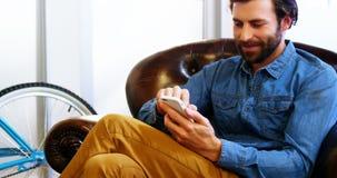 κινητή τηλεφωνική χρησιμο&p απόθεμα βίντεο