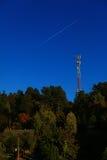Κινητή φύση τρόπων αεροσκαφών τηλεφωνικών σταθμών Στοκ Εικόνα