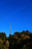 Κινητή φύση τρόπων αεροσκαφών τηλεφωνικών σταθμών Στοκ φωτογραφία με δικαίωμα ελεύθερης χρήσης