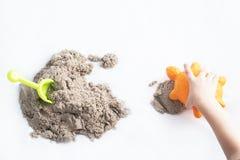 Κινητική άμμος Στοκ Εικόνες