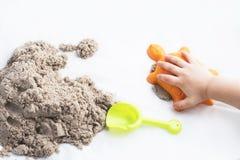 Κινητική άμμος στοκ φωτογραφία