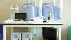 Κινητός ιατρικός εξοπλισμός για τις μητέρες απόθεμα βίντεο