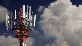 Κινητός πύργος τηλεπικοινωνιών Στοκ Εικόνες