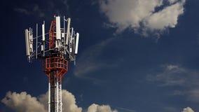 Κινητός πύργος τηλεπικοινωνιών Στοκ φωτογραφίες με δικαίωμα ελεύθερης χρήσης