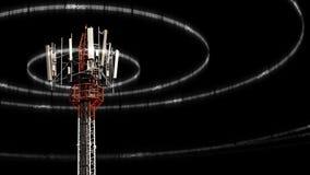 Κινητός πύργος τηλεπικοινωνιών Στοκ Φωτογραφίες