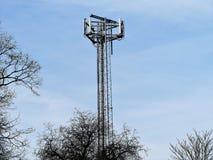 Κινητός τηλεφωνικός ιστός, Chorleywood στοκ εικόνα με δικαίωμα ελεύθερης χρήσης