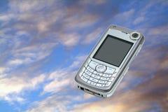 κινητός τηλεφωνικός ουρ&alp στοκ εικόνες