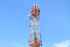 Κινητός τηλεφωνικός πόλος Στοκ φωτογραφία με δικαίωμα ελεύθερης χρήσης