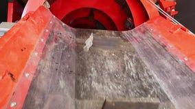 Κινητό εργοστάσιο επεξεργασίας αποβλήτων Στέλνοντας ταινία απόθεμα βίντεο