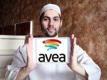 Κινητό λογότυπο τηλεπικοινωνιών Avea Στοκ φωτογραφία με δικαίωμα ελεύθερης χρήσης