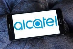 Κινητό λογότυπο της Alcatel Στοκ Εικόνες