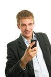 κινητό τηλέφωνο ατόμων εκμ&epsilo Στοκ εικόνες με δικαίωμα ελεύθερης χρήσης