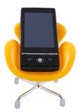κινητό τηλέφωνο εδρών στοκ εικόνες