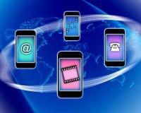 κινητό τηλέφωνο επικοινων Στοκ εικόνα με δικαίωμα ελεύθερης χρήσης