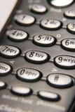 κινητό τηλέφωνο κουμπιών Στοκ Εικόνες