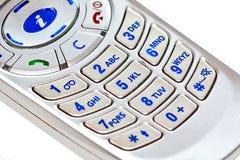 κινητό τηλέφωνο κουμπιών Στοκ Φωτογραφίες