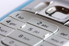 κινητό τηλέφωνο λεπτομέρε&i Στοκ φωτογραφίες με δικαίωμα ελεύθερης χρήσης