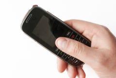 κινητό τηλέφωνο χεριών Στοκ φωτογραφία με δικαίωμα ελεύθερης χρήσης