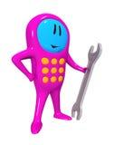 κινητό τηλεφωνικό κλειδί Στοκ φωτογραφίες με δικαίωμα ελεύθερης χρήσης