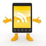 κινητό τηλεφωνικό rss smartphone ελεύθερη απεικόνιση δικαιώματος