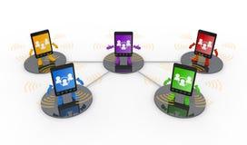 κινητό τηλεφωνικό smartphone διανυσματική απεικόνιση
