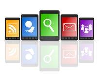 κινητό τηλεφωνικό smartphone Στοκ φωτογραφία με δικαίωμα ελεύθερης χρήσης