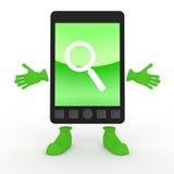 κινητό τηλεφωνικό smartphone απεικόνιση αποθεμάτων