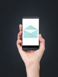 κινητό τηλεφωνικό διάνυσμα απεικόνισης ηλεκτρονικού ταχυδρομείου Στοκ φωτογραφία με δικαίωμα ελεύθερης χρήσης