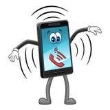 Κινητό τηλεφωνικό χτύπημα ελεύθερη απεικόνιση δικαιώματος