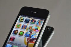 Κινητό Apps Στοκ Εικόνα