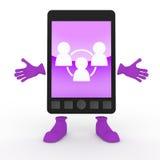 κινητό smartphone τηλεφωνικού μερ&iota ελεύθερη απεικόνιση δικαιώματος