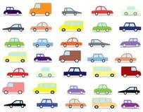 κινούμενα σχέδια αυτοκι& Στοκ φωτογραφία με δικαίωμα ελεύθερης χρήσης