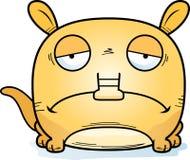 Κινούμενα σχέδια λυπημένο Aardvark απεικόνιση αποθεμάτων