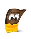Κινούμενα σχέδια σοκολάτας Στοκ φωτογραφία με δικαίωμα ελεύθερης χρήσης
